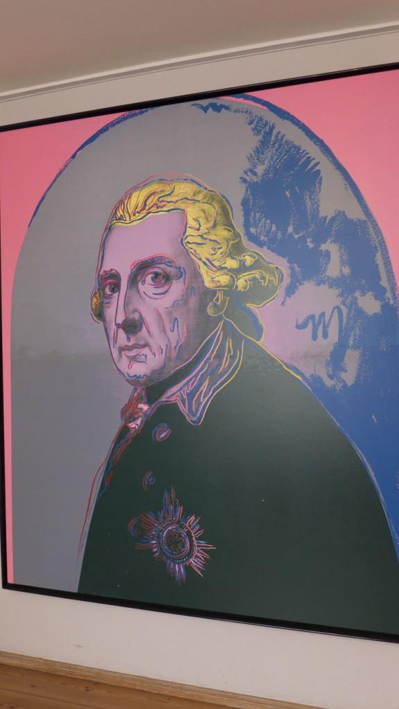 Guillaume II vu par Andy Wahrol