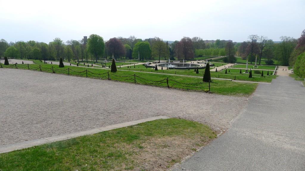 Parc du château Sans Souci