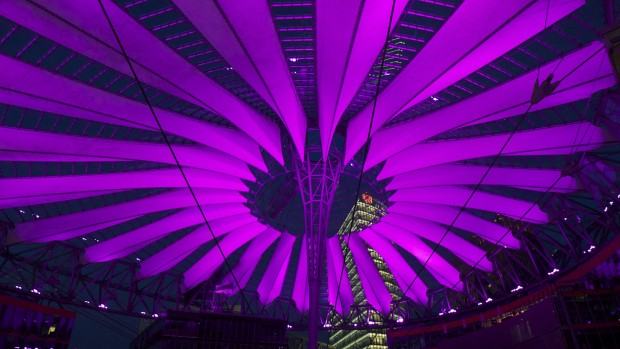 Sony Center de nuit