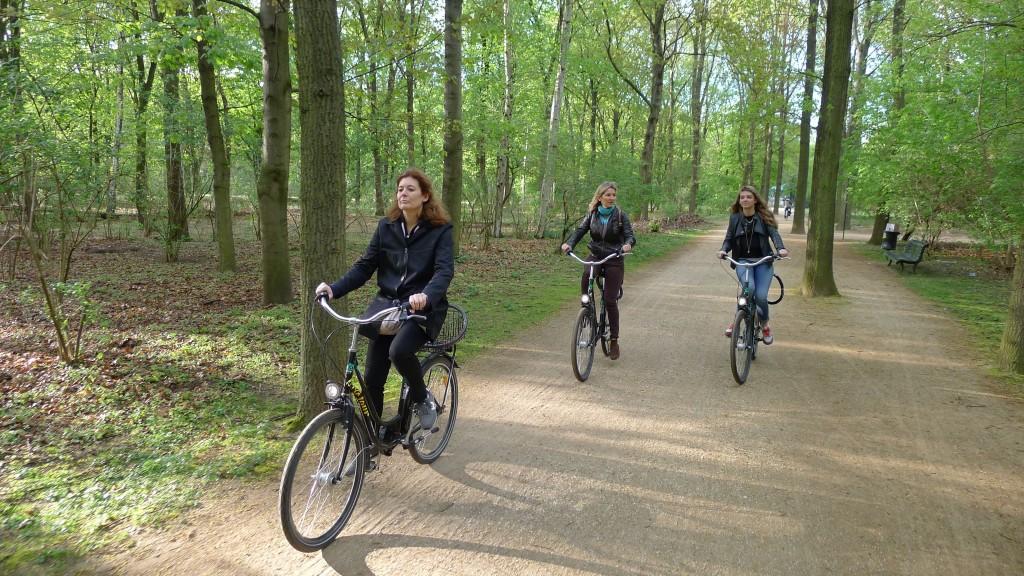 On traverse Tiergarten