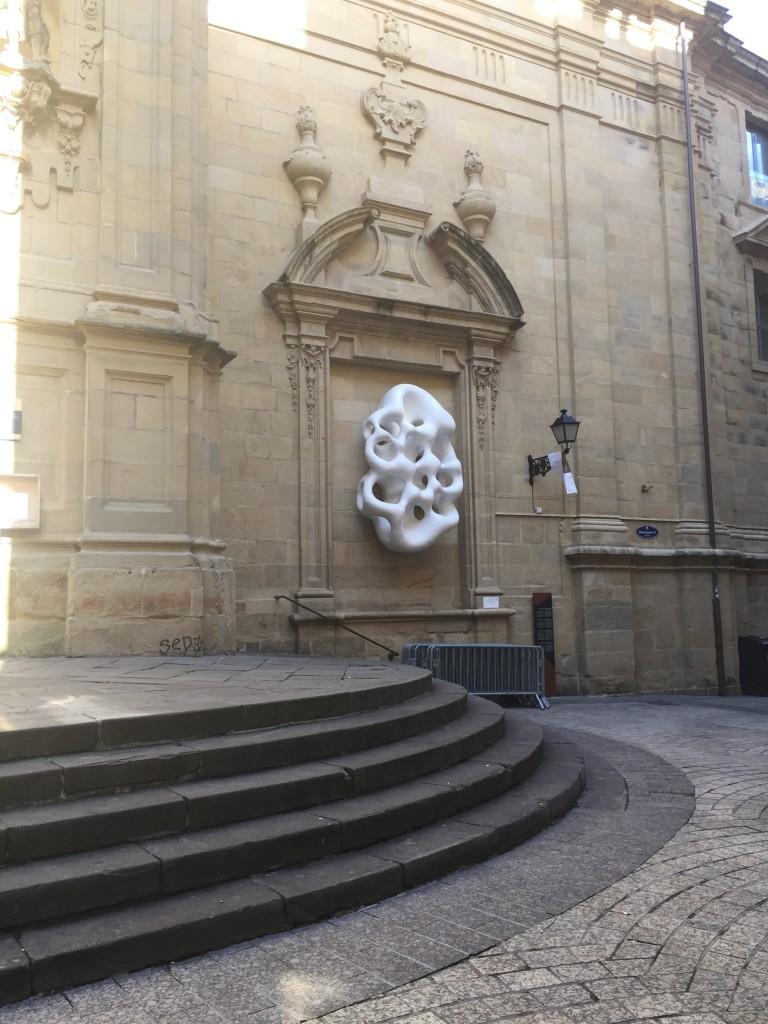 Sculpture sur la cathédrale