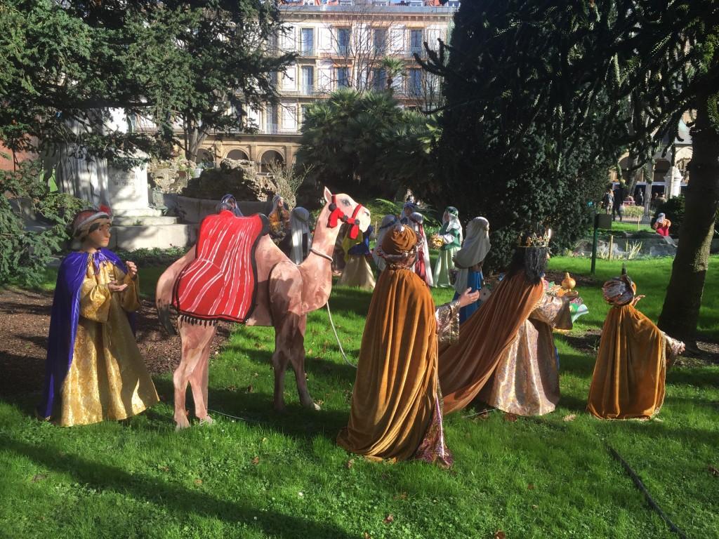 procession pour la fête des rois mages
