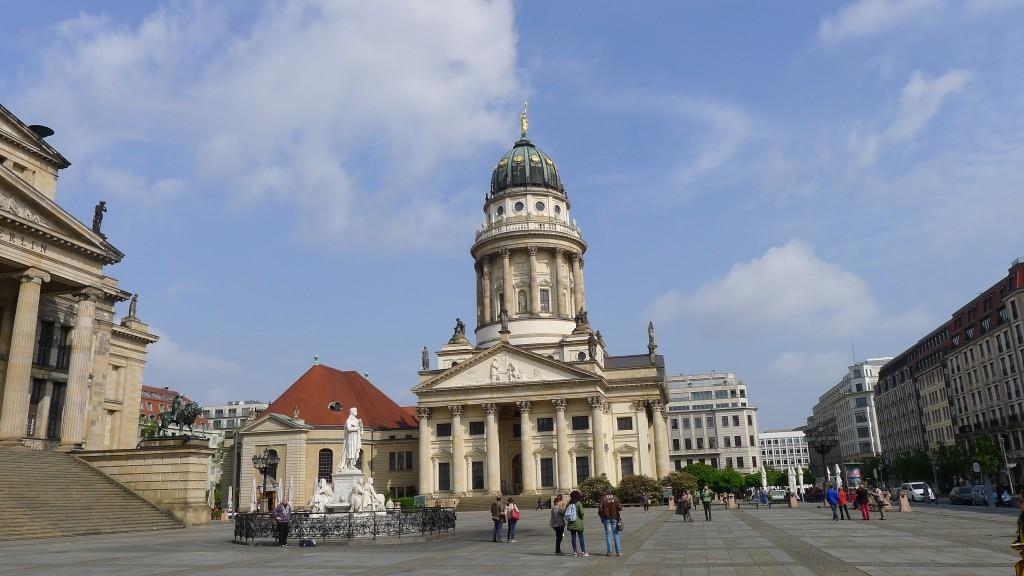 l'église allemande place Gendarmenmarkt