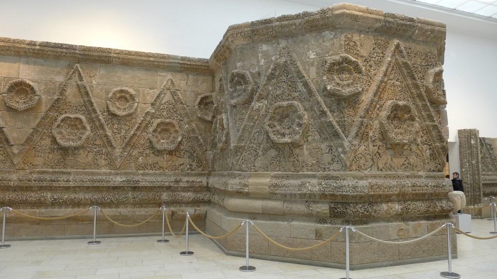 facade du palais de Mshatta