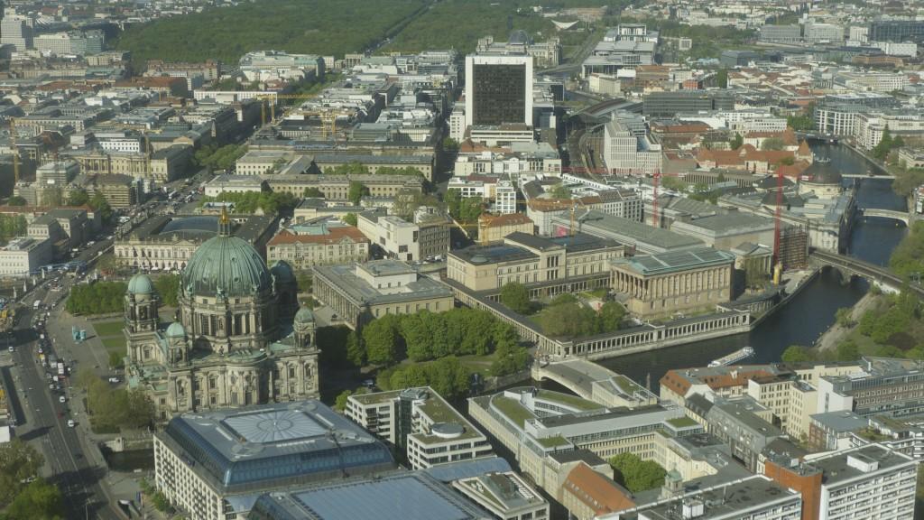 vue de la Fernsehturm