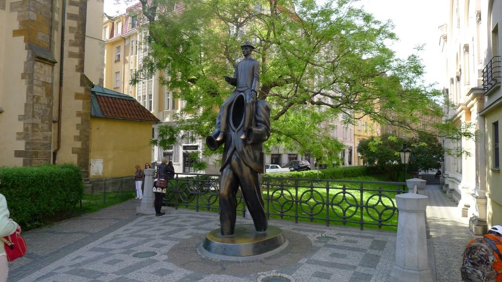 Statue de Kafka