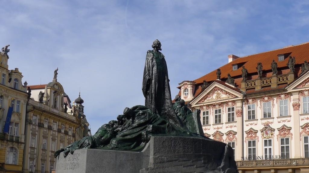 statue de jan Hus