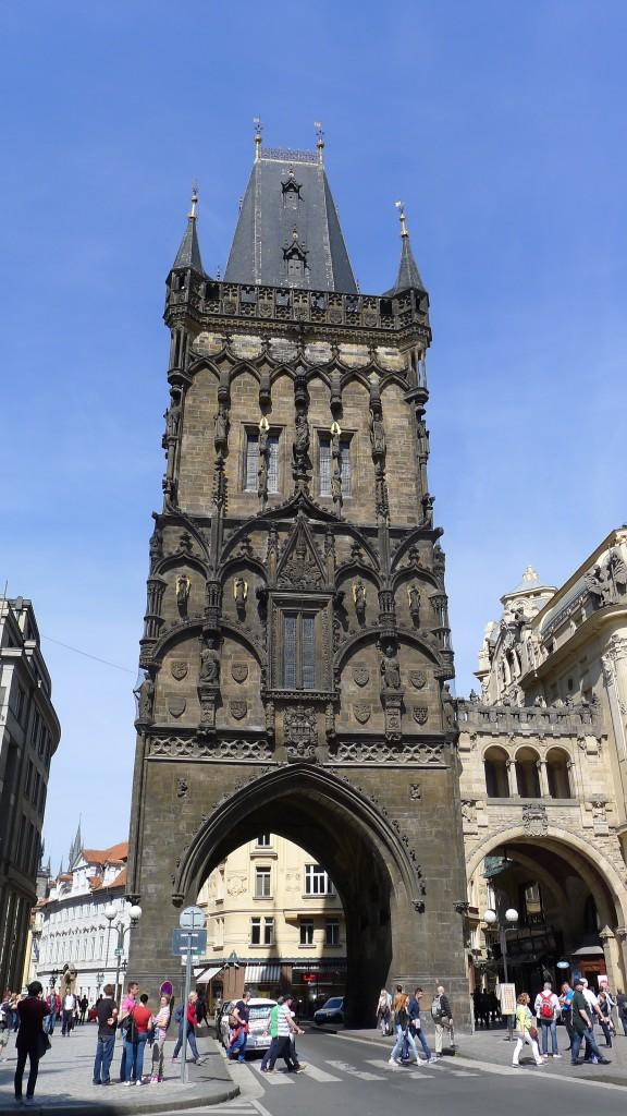 tour dans la ville
