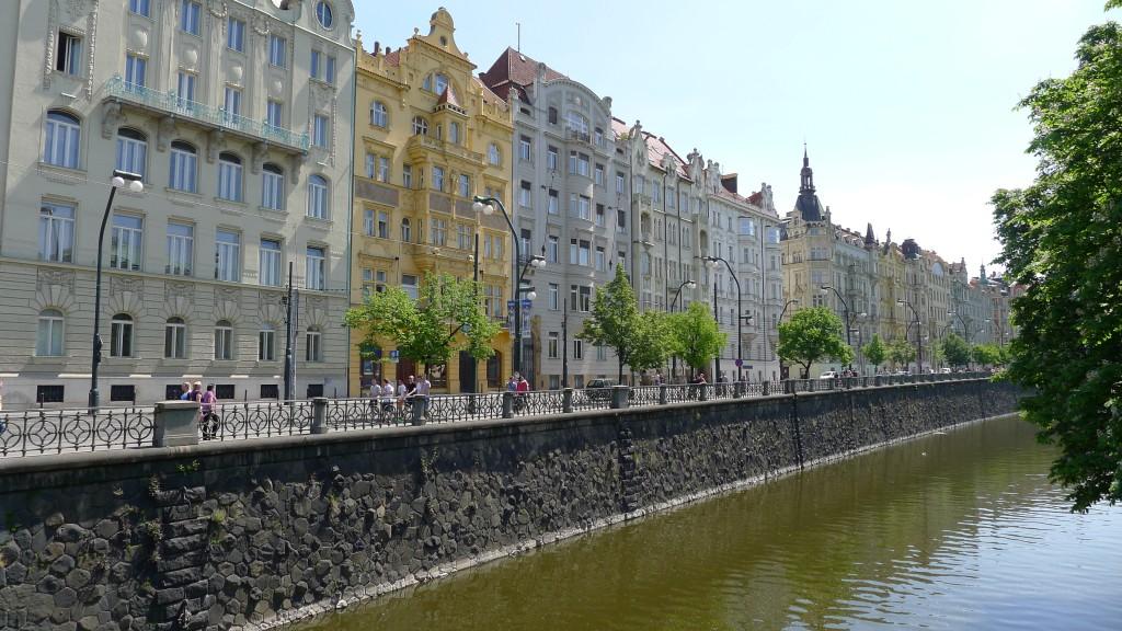 bord de la Vltava