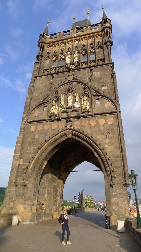 la tour du pont Charles