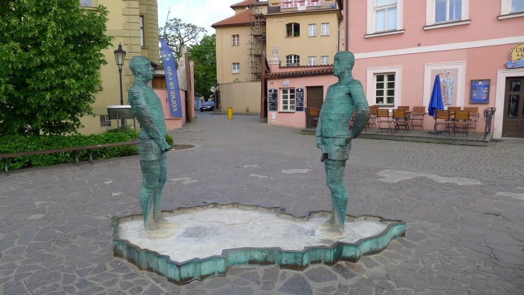 statues de David Cerny