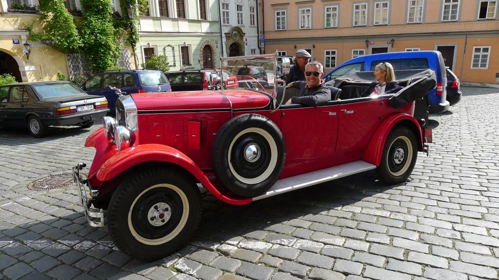 petit tour en Praga