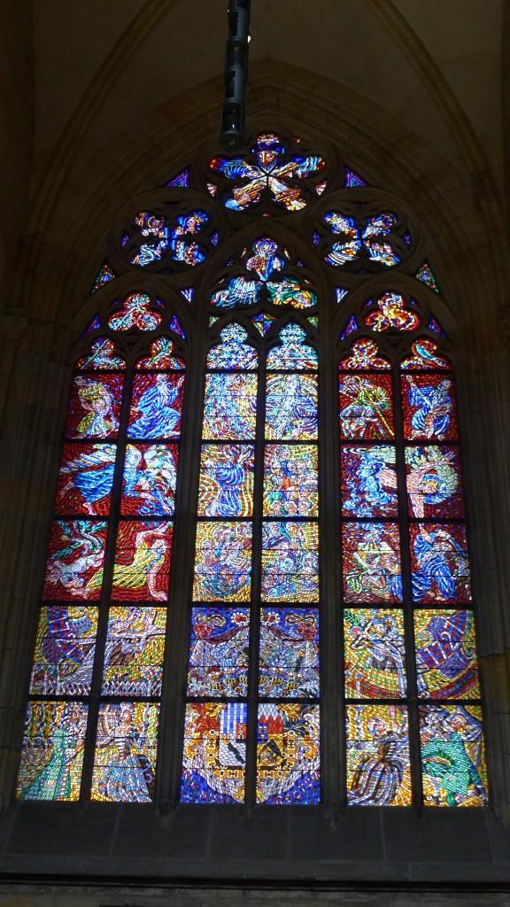 vitrail de la cathédrale Saint Guy