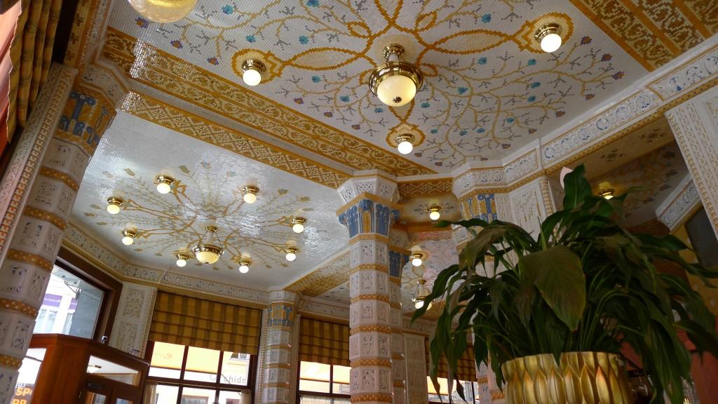 plafond café impérial