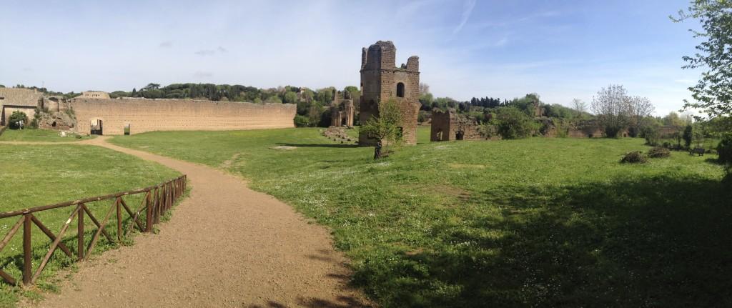 ancien champ de course de chars sur via Appia Antica