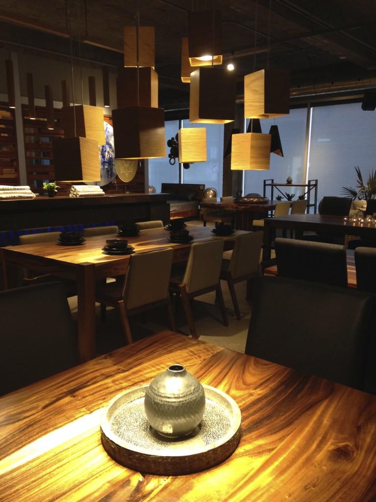 intérieur restaurant Québec
