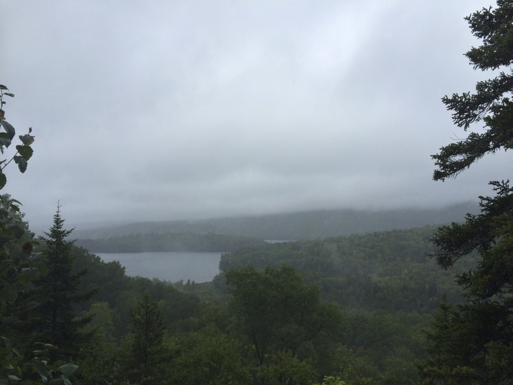 Le Lac de Sacacomie de loin