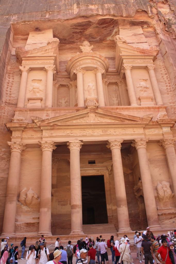 la facade de Kazneh