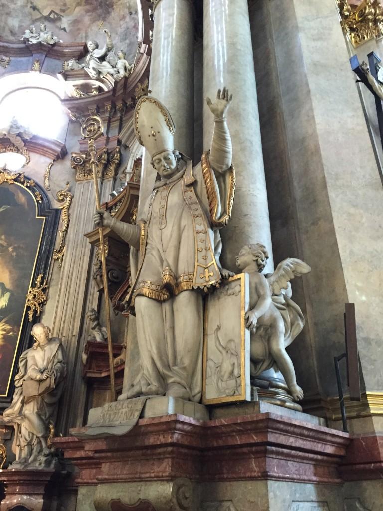 église Saint Nicolas à Prague