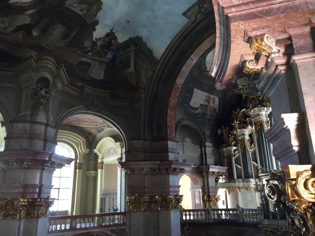 plafond église Prague