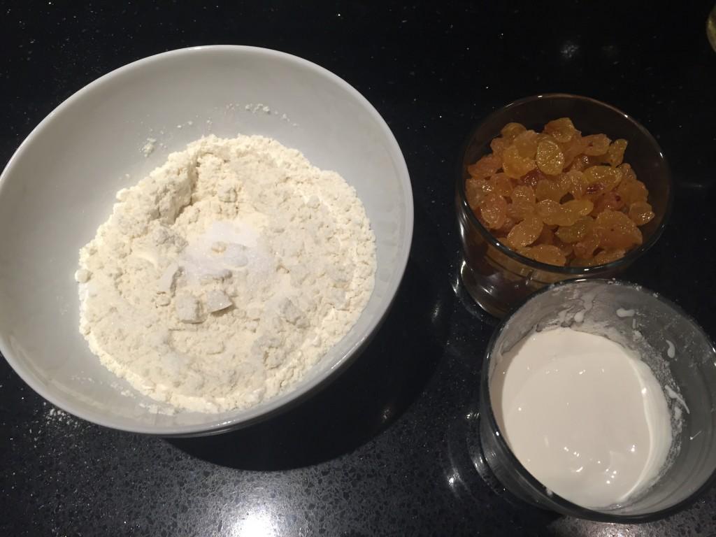 ingrédients sablés du Cantal