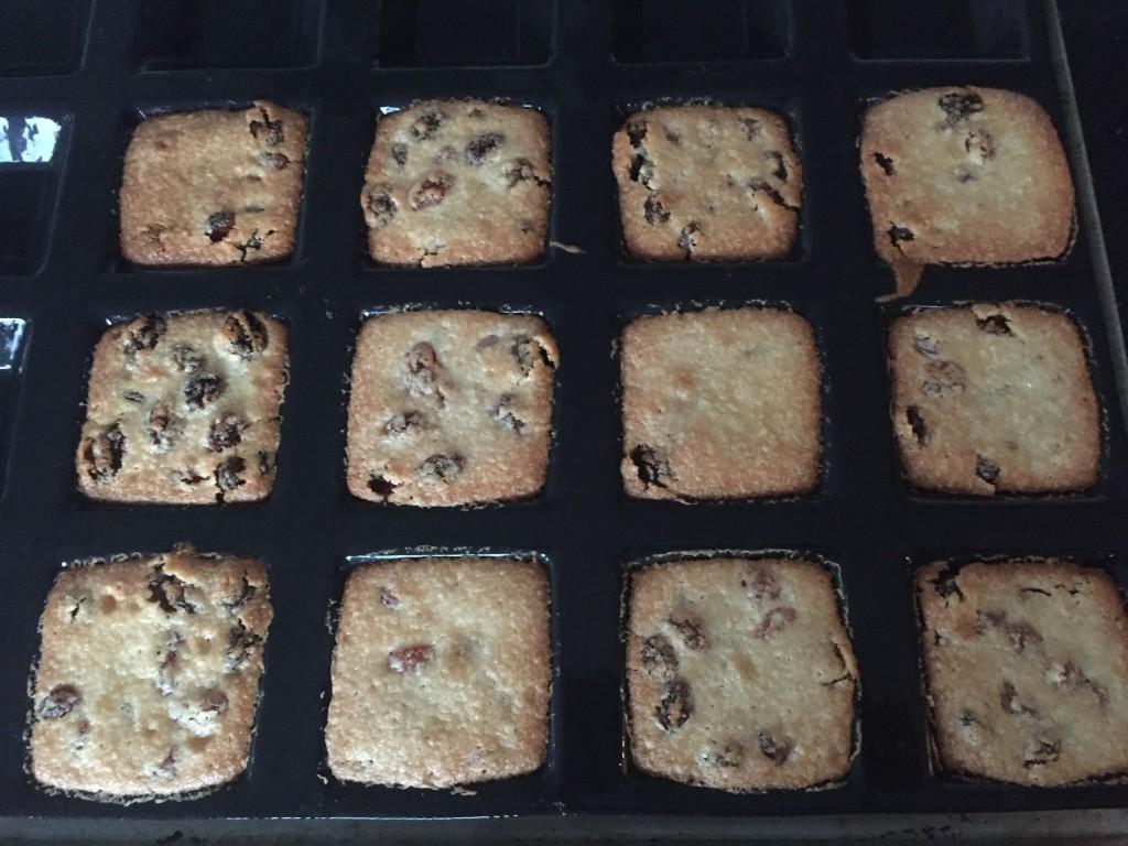 les gâteaux cuits