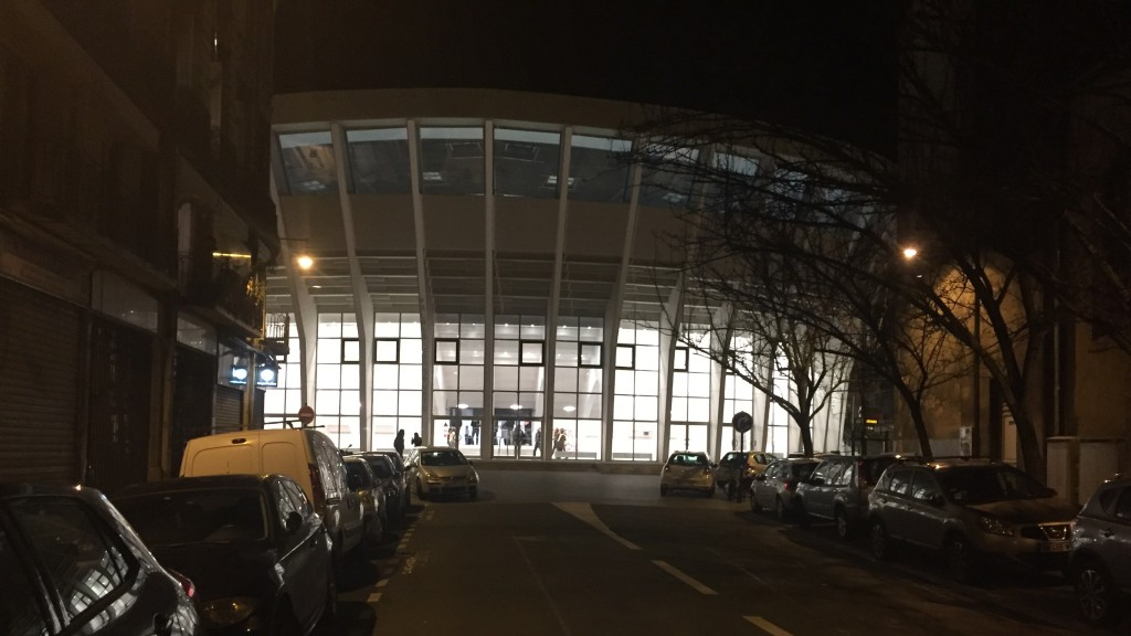 la salle des sports Victor Hugo