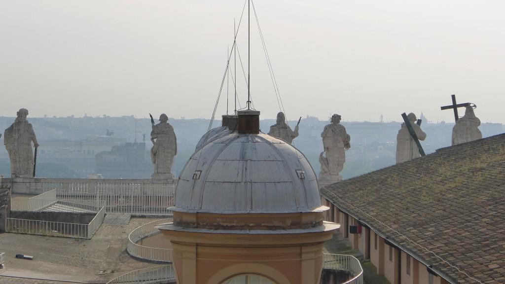 vue de la terrasse de la coupole