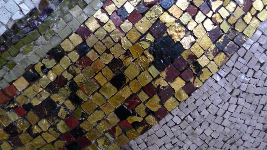 détail des mosaïques