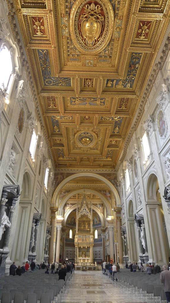 intérieur de Saint jean de Latran