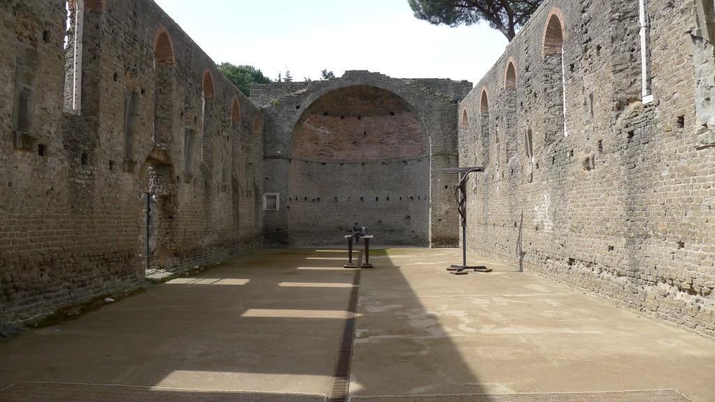 ancienne église sur via Appia Antica