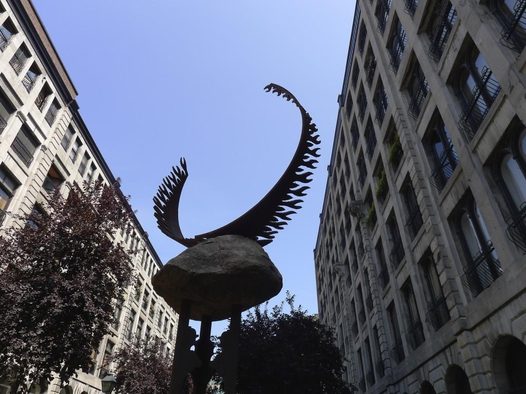 statues d'Orignal Montreal