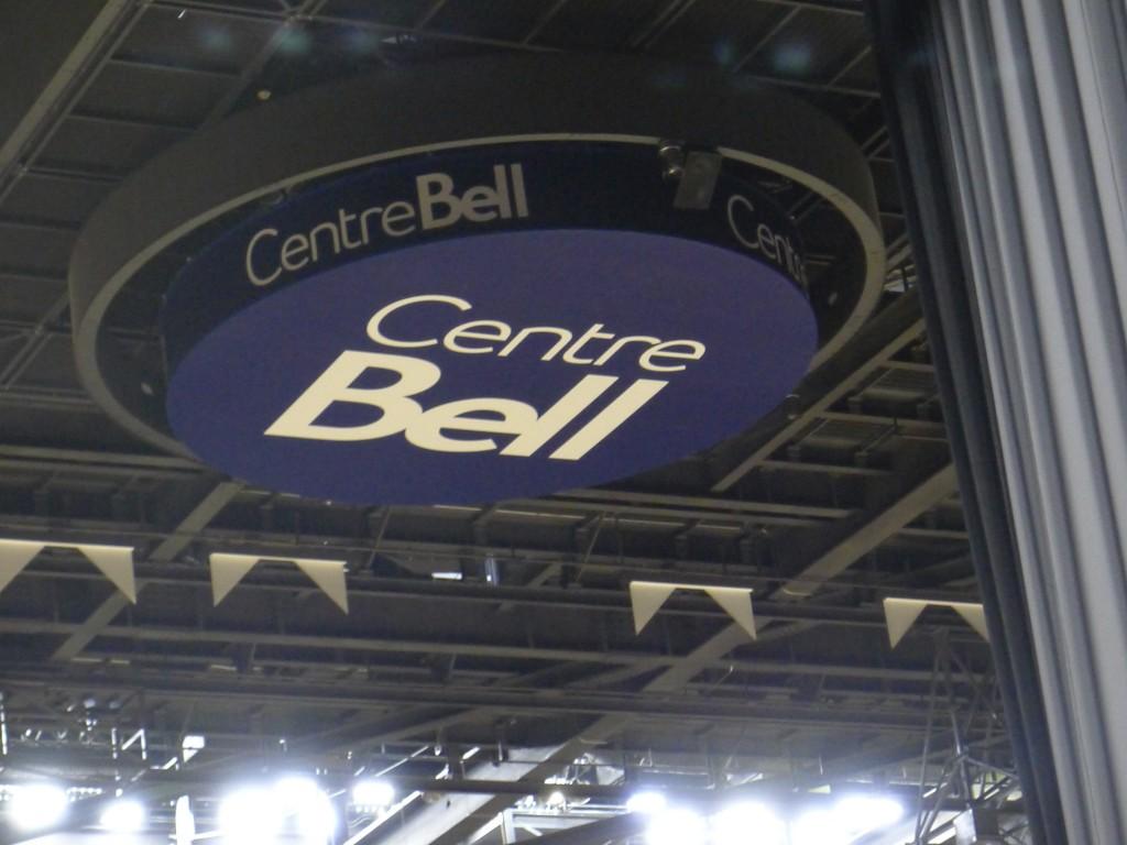 le centre Bell intérieur