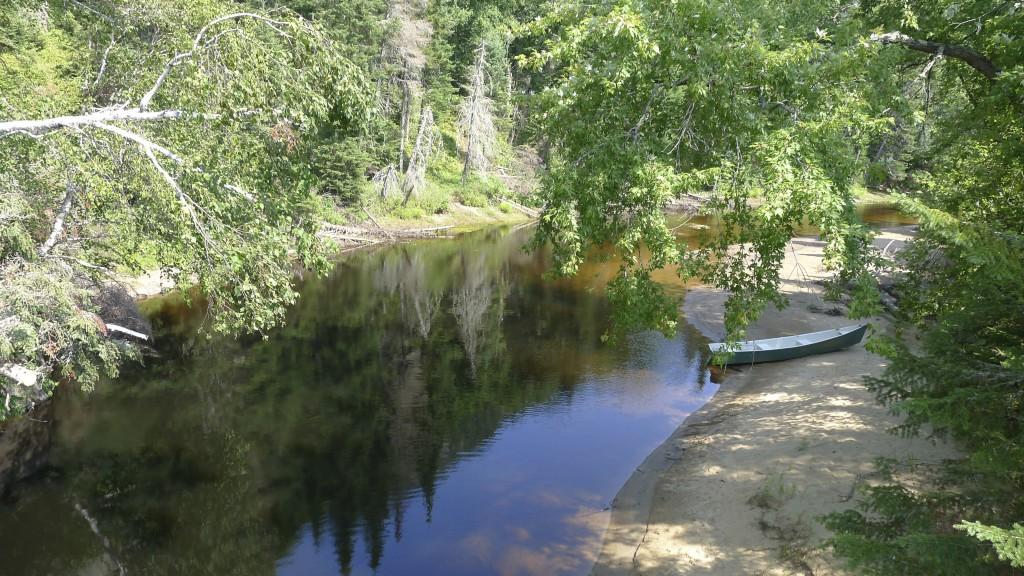 cours d'eau sur le parc du Mont Tremblant