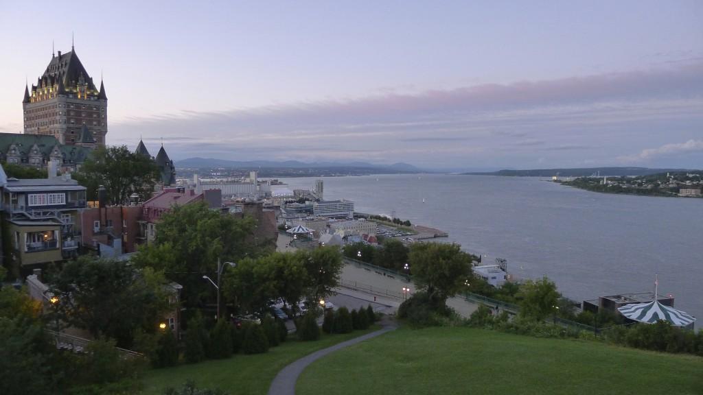 château de Frontenac à Québec