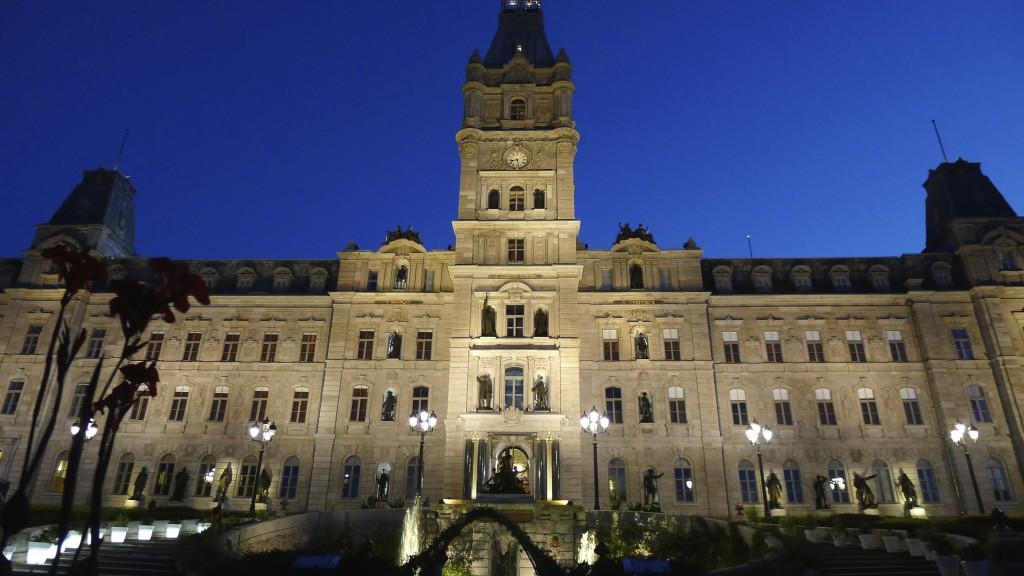 Hotel du Parlement à Québec
