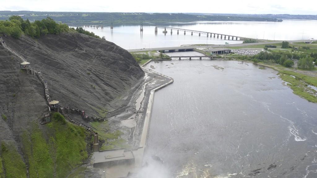 chutes de Montmorency à Québec