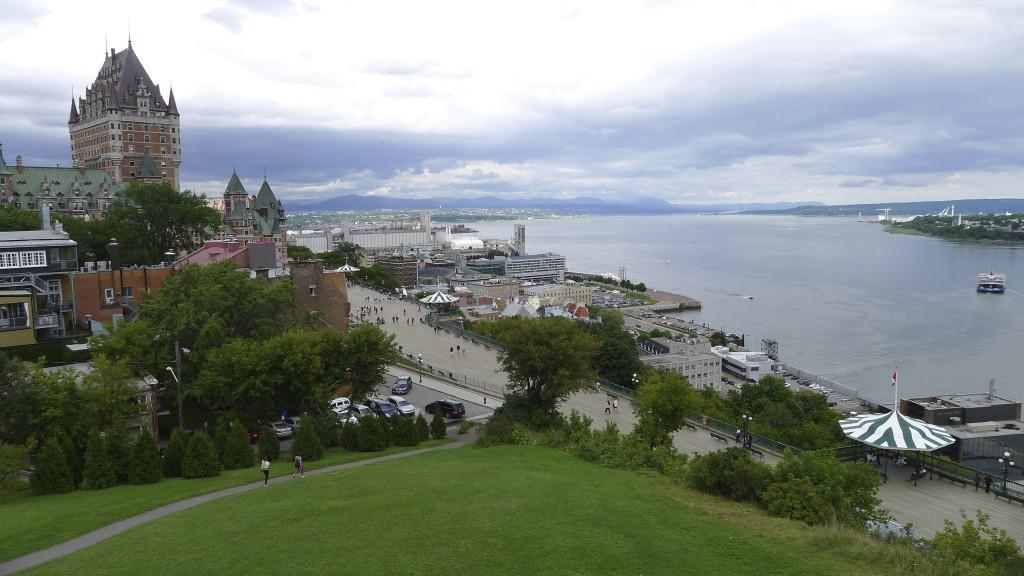 vue sur le Saint Laurent