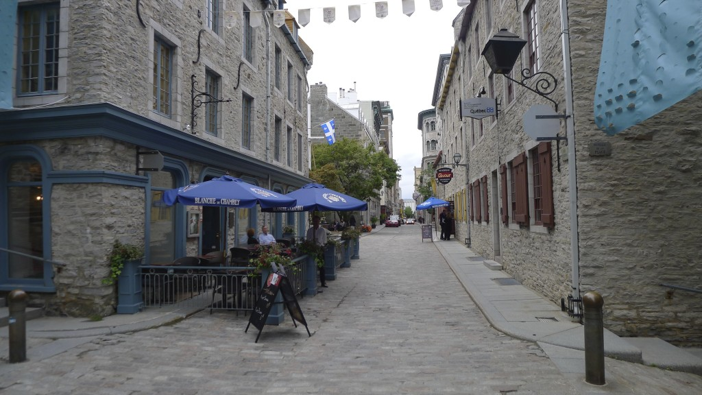 Petite rue dans le vieux Québec