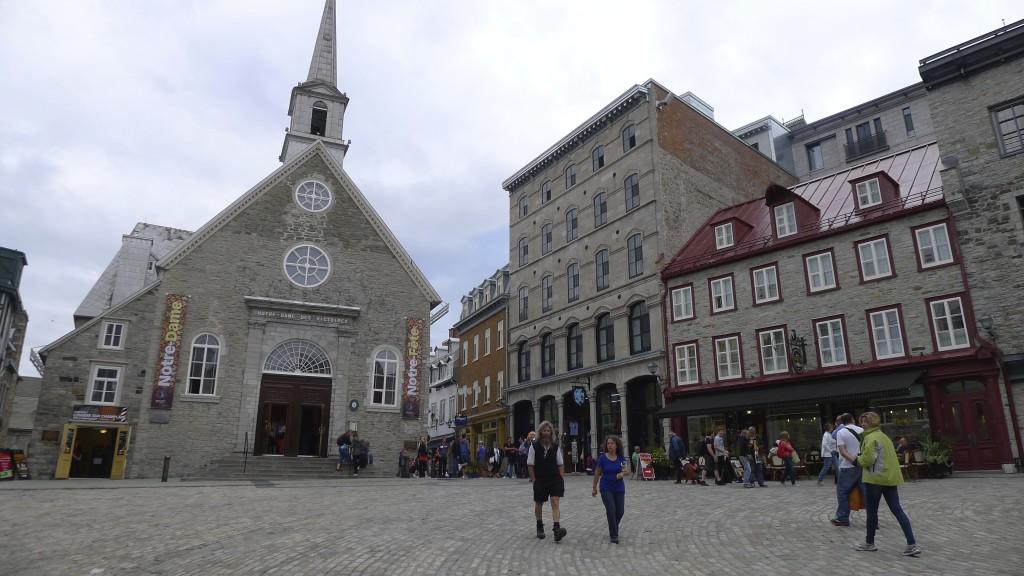 Chapelle Notre dame des Victoires Quebec