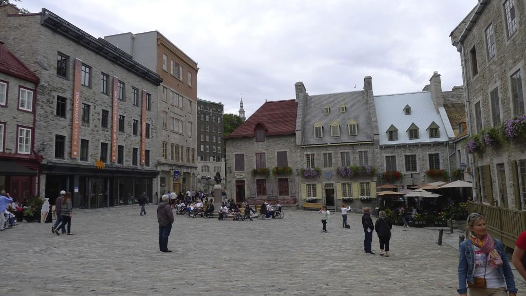 Place Royale dans le Vieux Québec
