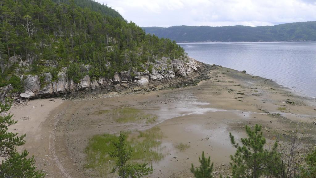 vue du lac de Saguenay