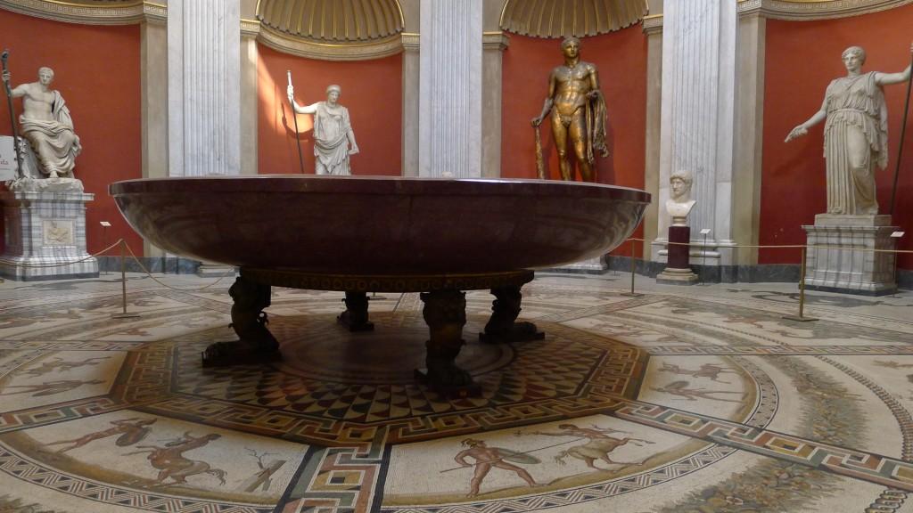 La vasque de Porphyre de 4 m