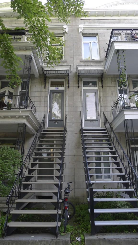 maison typique à Montréal