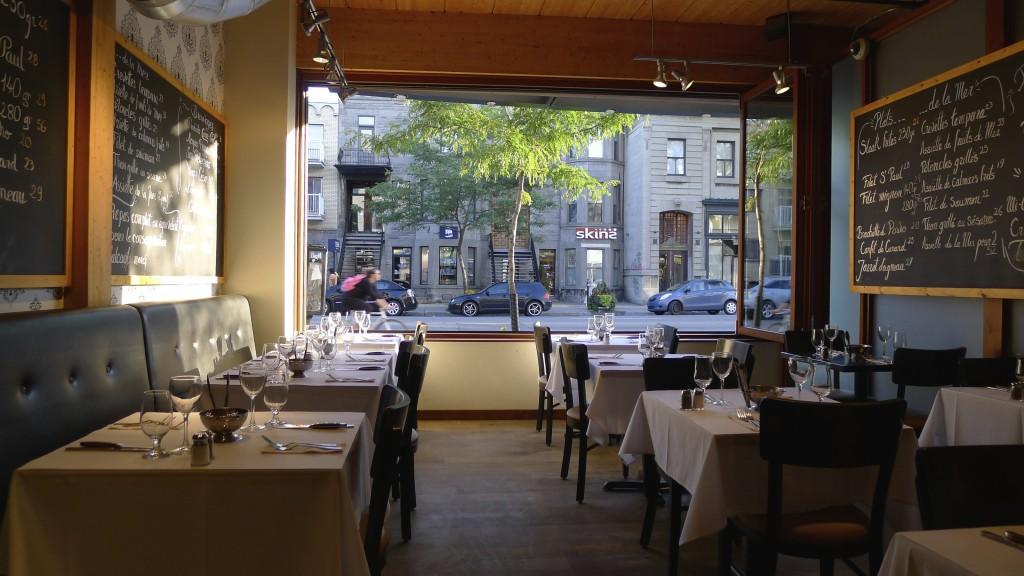 restaurant dans Montréal