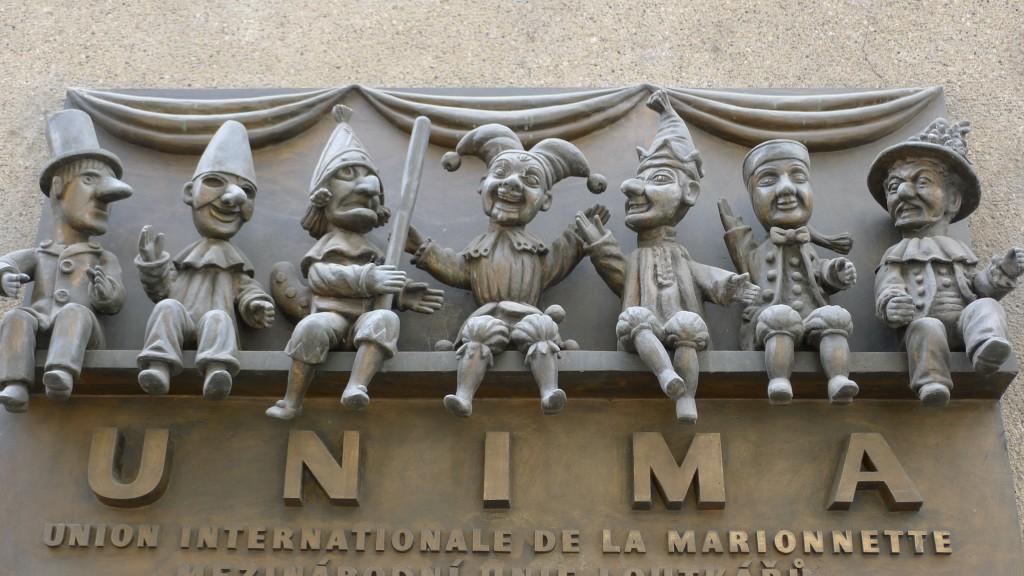 symbole union des marionnettistes Prague