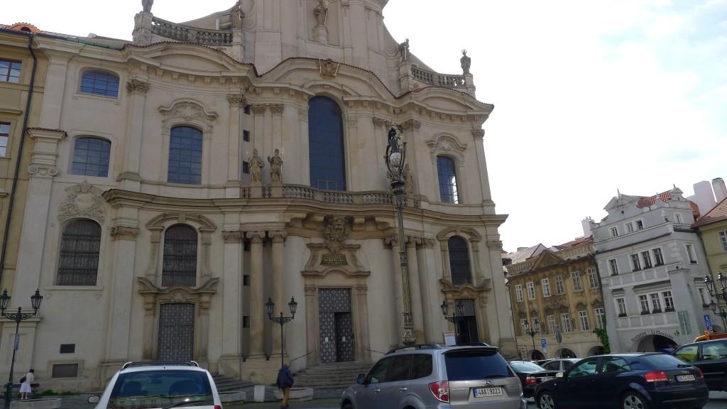 façade de l'église saint Nicolas