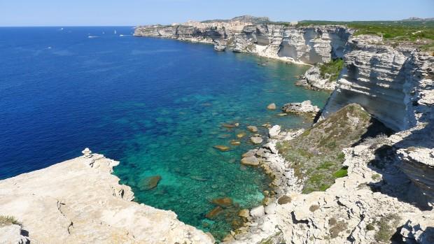 falaise de calcaire Bonfaccio