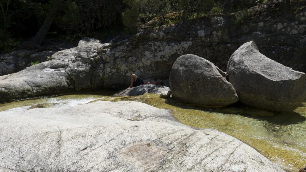 Cascade en bas des aiguilles de Bavella