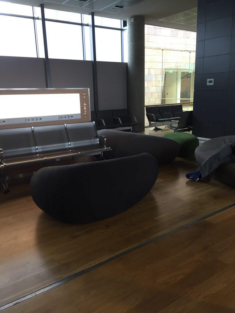intérieur de aéroport Keflavik